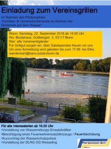 Vereinsgrillen @ 53117 Bonn